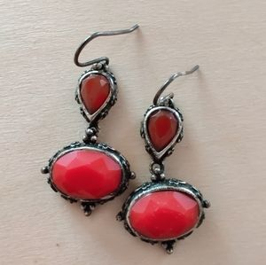 Lucky Brand Boho Gemstone Earrings